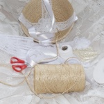 Fair Trade Jute Flower Girl Basket