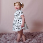 Polly Polka Dot Matching Sisters Dresses