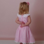 Alanza Soft Pink Girls Dress