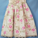 Beatriz Lacey Bodice Floral Girls Dress