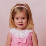 Fabric Covered Girls Headbands - Two 2PCs