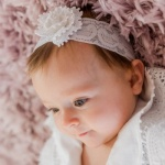 Floral Handmade Lace Baby Headband