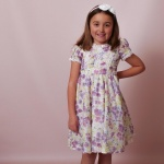Molly Floral Pink Girls Dress