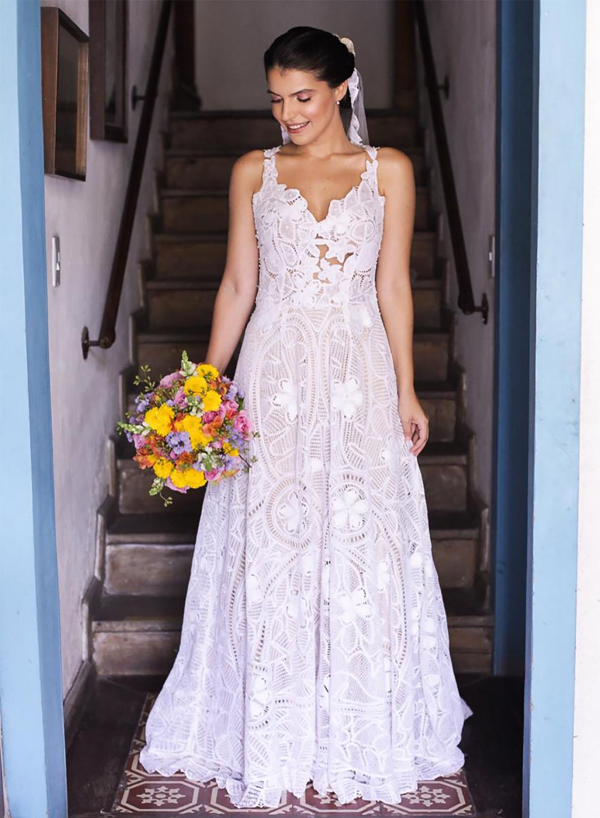 Handmade Lace Wedding Dress
