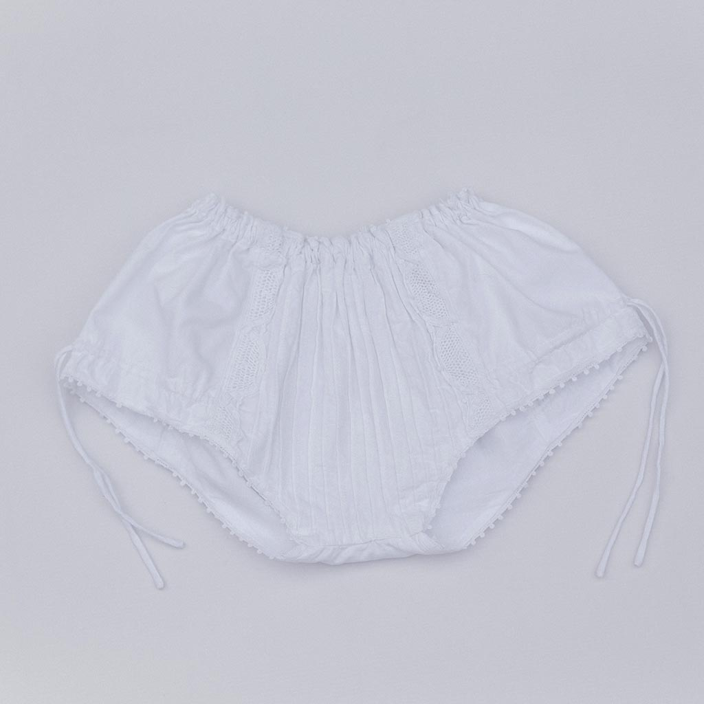 Ruffle Handmade Lace Girls Frilly Knickers